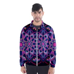 Mandala Circular Pattern Wind Breaker (men)