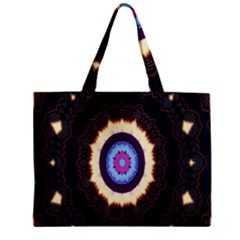 Mandala Art Design Pattern Zipper Mini Tote Bag