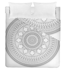 Mandala Ethnic Pattern Duvet Cover Double Side (queen Size) by Celenk