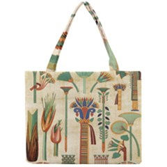 Egyptian Paper Papyrus Hieroglyphs Mini Tote Bag