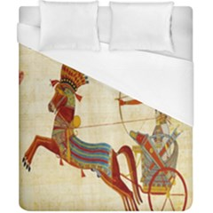 Egyptian Tutunkhamun Pharaoh Design Duvet Cover (california King Size) by Celenk