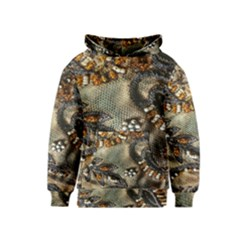 Texture Textile Beads Beading Kids  Pullover Hoodie