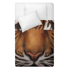 The Tiger Face Duvet Cover Double Side (single Size)