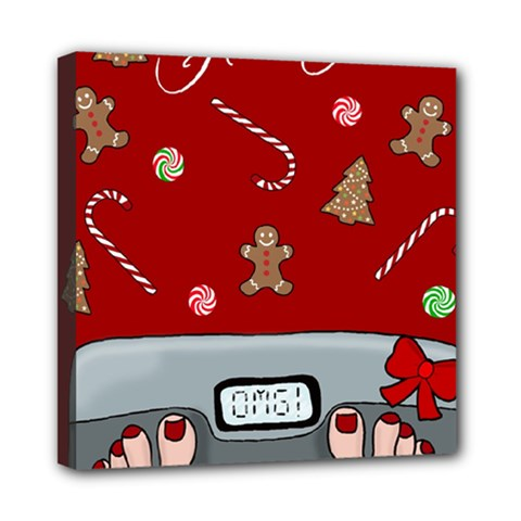 Hilarious Holidays  Mini Canvas 8  X 8  by Valentinaart