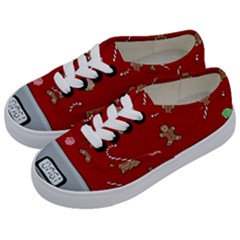 Hilarious Holidays  Kids  Classic Low Top Sneakers by Valentinaart