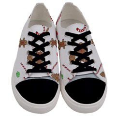 Hilarious Holidays  Men s Low Top Canvas Sneakers