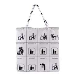 Holidays Grocery Tote Bag
