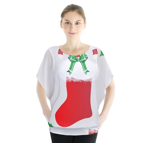 Christmas Stocking Blouse by christmastore