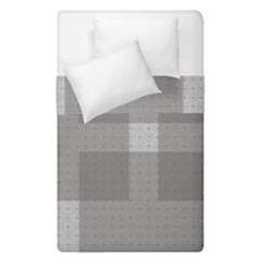 Gray Designs Transparency Square Duvet Cover Double Side (single Size)