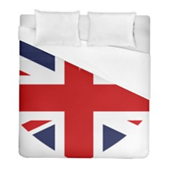 Uk Flag United Kingdom Duvet Cover (full/ Double Size) by Celenk
