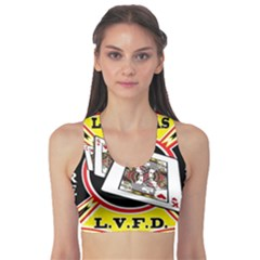 Las Vegas Fire Department Sports Bra by allthingseveryday