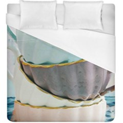Tea Cups Duvet Cover (king Size) by 8fugoso