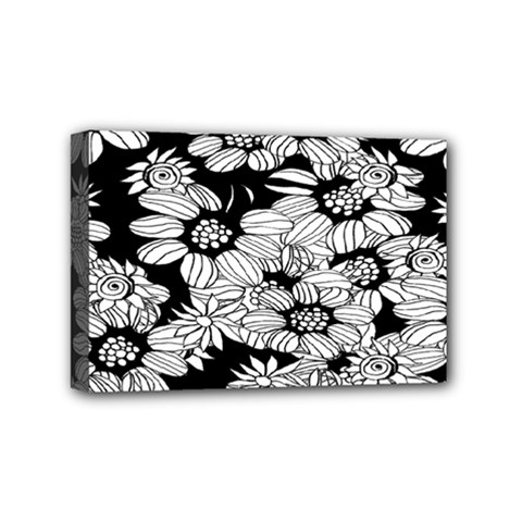 Mandala Calming Coloring Page Mini Canvas 6  X 4  by Celenk