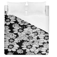 Mandala Calming Coloring Page Duvet Cover (queen Size) by Celenk