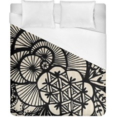 Background Abstract Beige Black Duvet Cover (california King Size) by Celenk