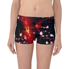 Circle Lines Wave Star Abstract Boyleg Bikini Bottoms