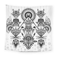 Ancient Parade Ancient Civilization Square Tapestry (large) by Celenk