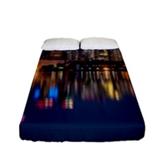 Buildings Can Cn Tower Canada Fitted Sheet (full/ Double Size) by Celenk