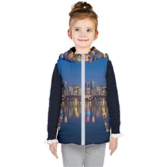 Buildings Can Cn Tower Canada Kid s Puffer Vest
