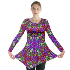 Seamless Tileable Pattern Design Long Sleeve Tunic