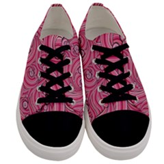 Pattern Doodle Design Drawing Men s Low Top Canvas Sneakers