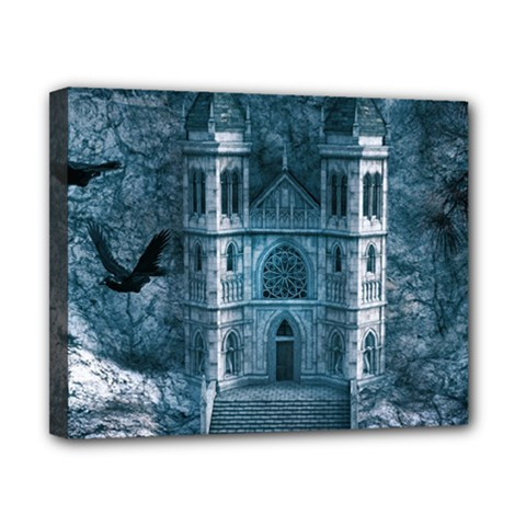 Church Stone Rock Building Canvas 10  X 8  by Celenk