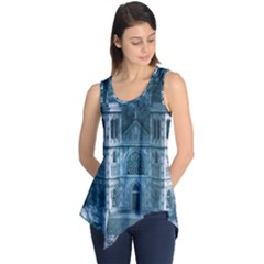 Church Stone Rock Building Sleeveless Tunic