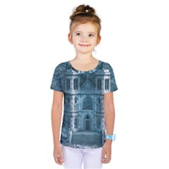 Church Stone Rock Building Kids  One Piece Tee by Celenk