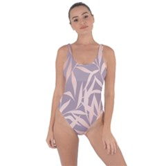 Rose Gold, Asian,leaf,pattern,bamboo Trees, Beauty, Pink,metallic,feminine,elegant,chic,modern,wedding Bring Sexy Back Swimsuit