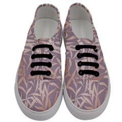 Rose Gold, Asian,leaf,pattern,bamboo Trees, Beauty, Pink,metallic,feminine,elegant,chic,modern,wedding Men s Classic Low Top Sneakers