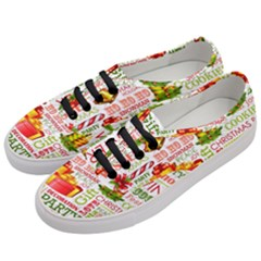 The Joys Of Christmas Women s Classic Low Top Sneakers by allthingseveryone