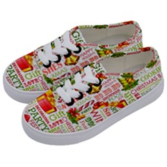 The Joys Of Christmas Kids  Classic Low Top Sneakers by allthingseveryone