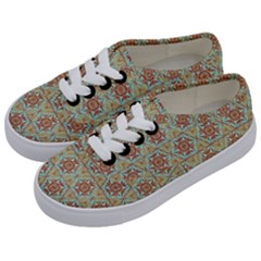 Hexagon Tile Pattern 2 Kids  Classic Low Top Sneakers by Cveti