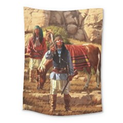 Apache Braves Medium Tapestry by allthingseveryone