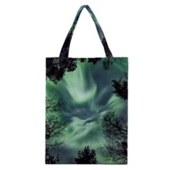 Northern Lights In The Forest Classic Tote Bag by Ucco