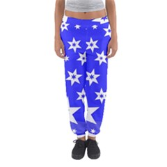 Star Background Pattern Advent Women s Jogger Sweatpants by Celenk