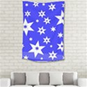 Star Background Pattern Advent Small Tapestry View2