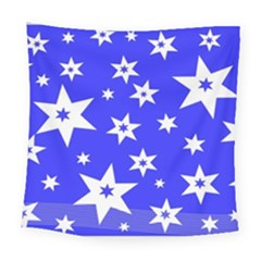 Star Background Pattern Advent Square Tapestry (large) by Celenk