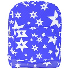 Star Background Pattern Advent Full Print Backpack by Celenk