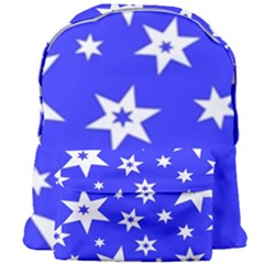 Star Background Pattern Advent Giant Full Print Backpack by Celenk