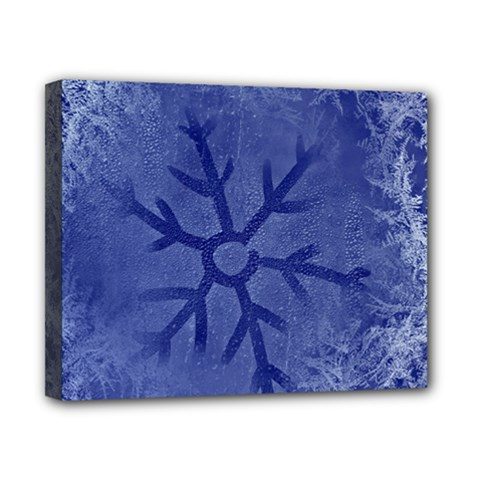 Winter Hardest Frost Cold Canvas 10  X 8  by Celenk