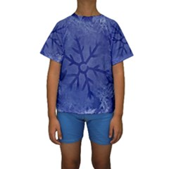 Winter Hardest Frost Cold Kids  Short Sleeve Swimwear by Celenk