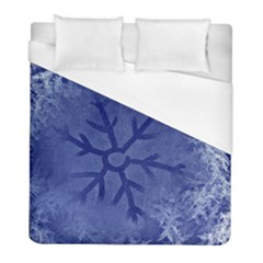 Winter Hardest Frost Cold Duvet Cover (full/ Double Size)