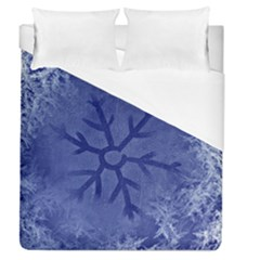 Winter Hardest Frost Cold Duvet Cover (queen Size) by Celenk