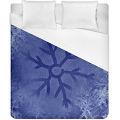 Winter Hardest Frost Cold Duvet Cover (california King Size) by Celenk
