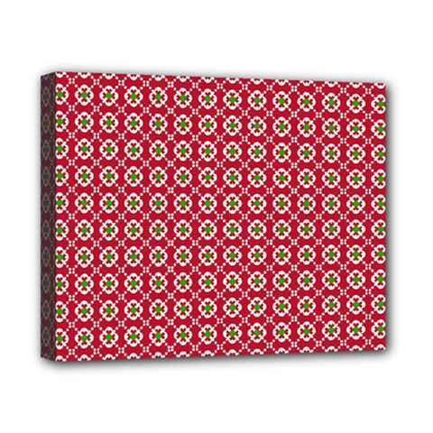 Christmas Wrapping Paper Canvas 10  X 8