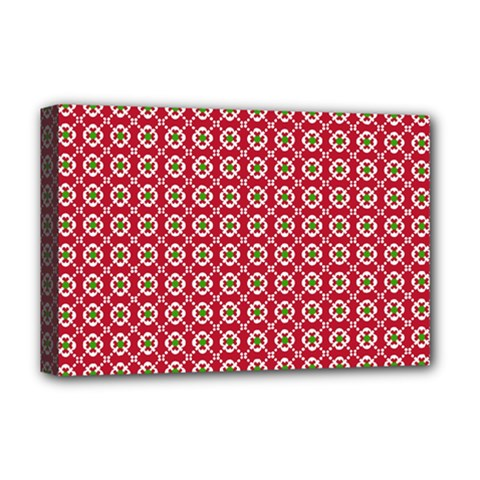 Christmas Wrapping Paper Deluxe Canvas 18  X 12   by Celenk