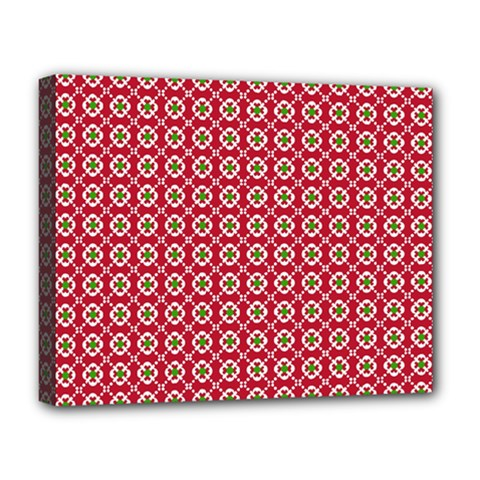Christmas Wrapping Paper Deluxe Canvas 20  X 16   by Celenk