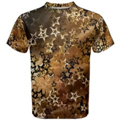 Star Sky Graphic Night Background Men s Cotton Tee by Celenk