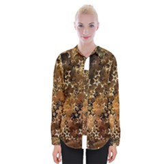 Star Sky Graphic Night Background Womens Long Sleeve Shirt